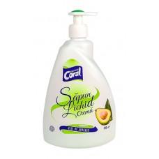 Săpun lichid crema cu ulei de avocado