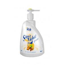 Săpun lichid crema cu ulei de migdale